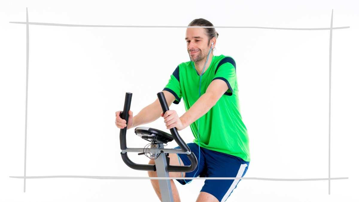 Sport treiben mit Ergometer